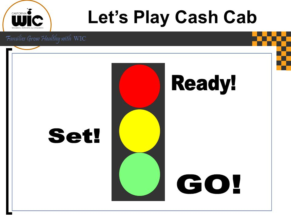 Let's Play Cash Cab Ready! Set! GO! Ready! [CLICK] Set! [CLICK] GO!!!
